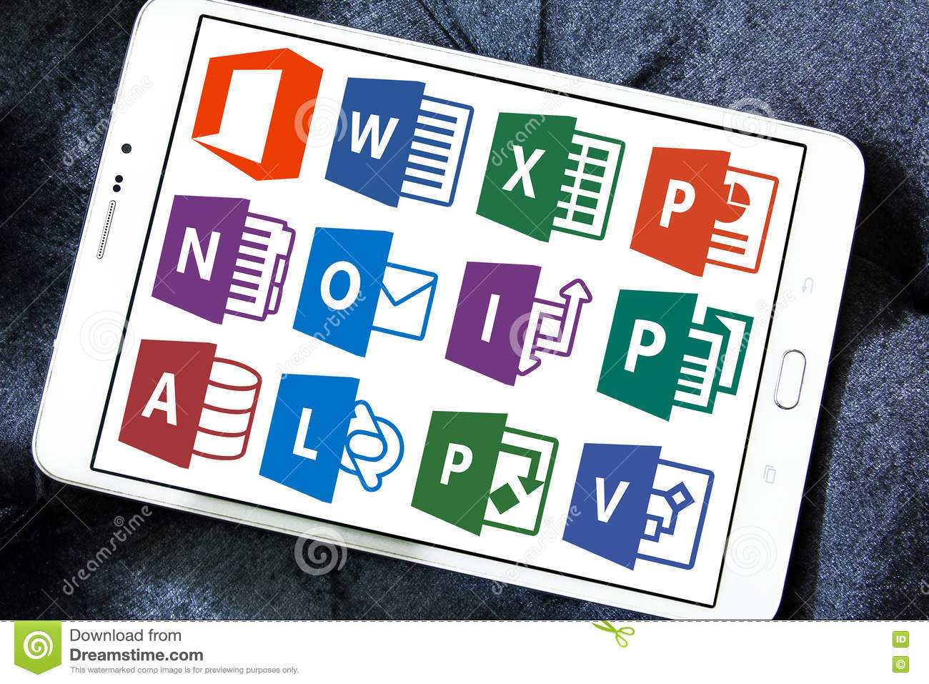 Microsoft Office Word, Excel, Powerpoint Editorial Image