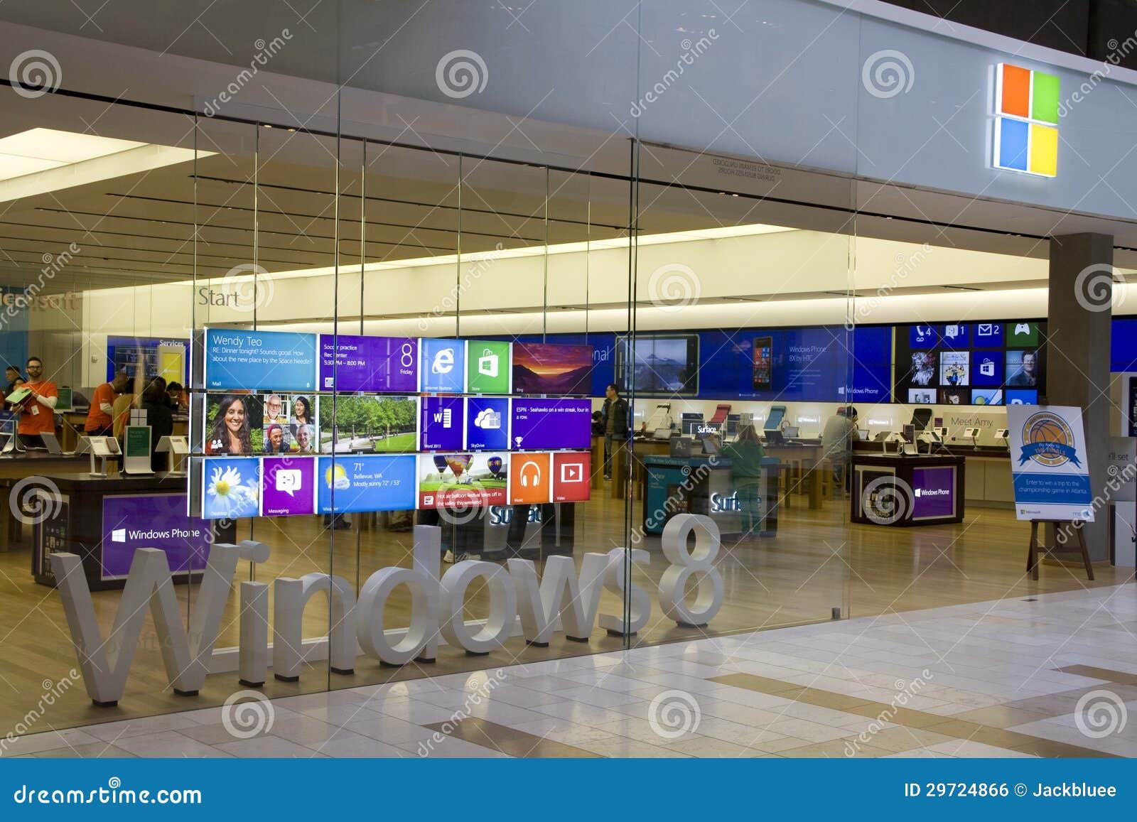 Microsoft Store In Bellevue Square Mall Editorial Photo ...