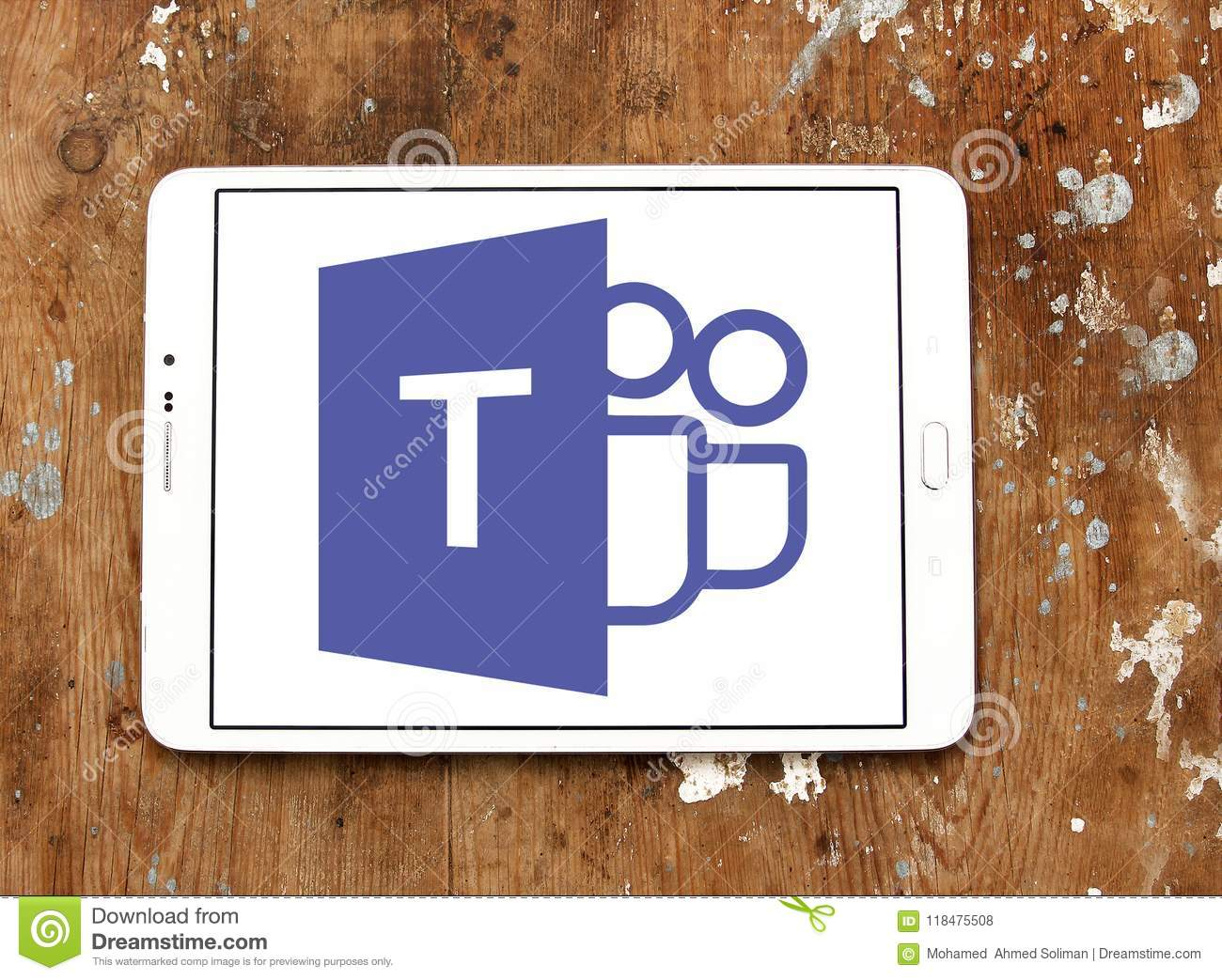 Microsoft Teams Logo Editorial Stock Photo Image Of Combines