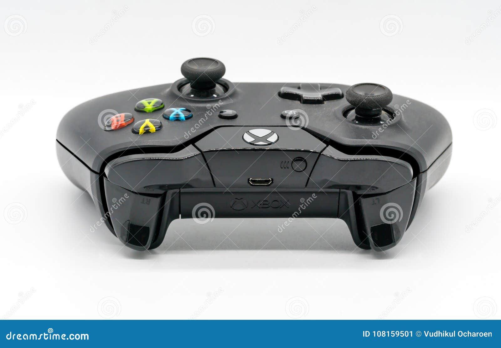 Microsoft Xbox kontrollant, modig konsol vid Microsoft illustrati