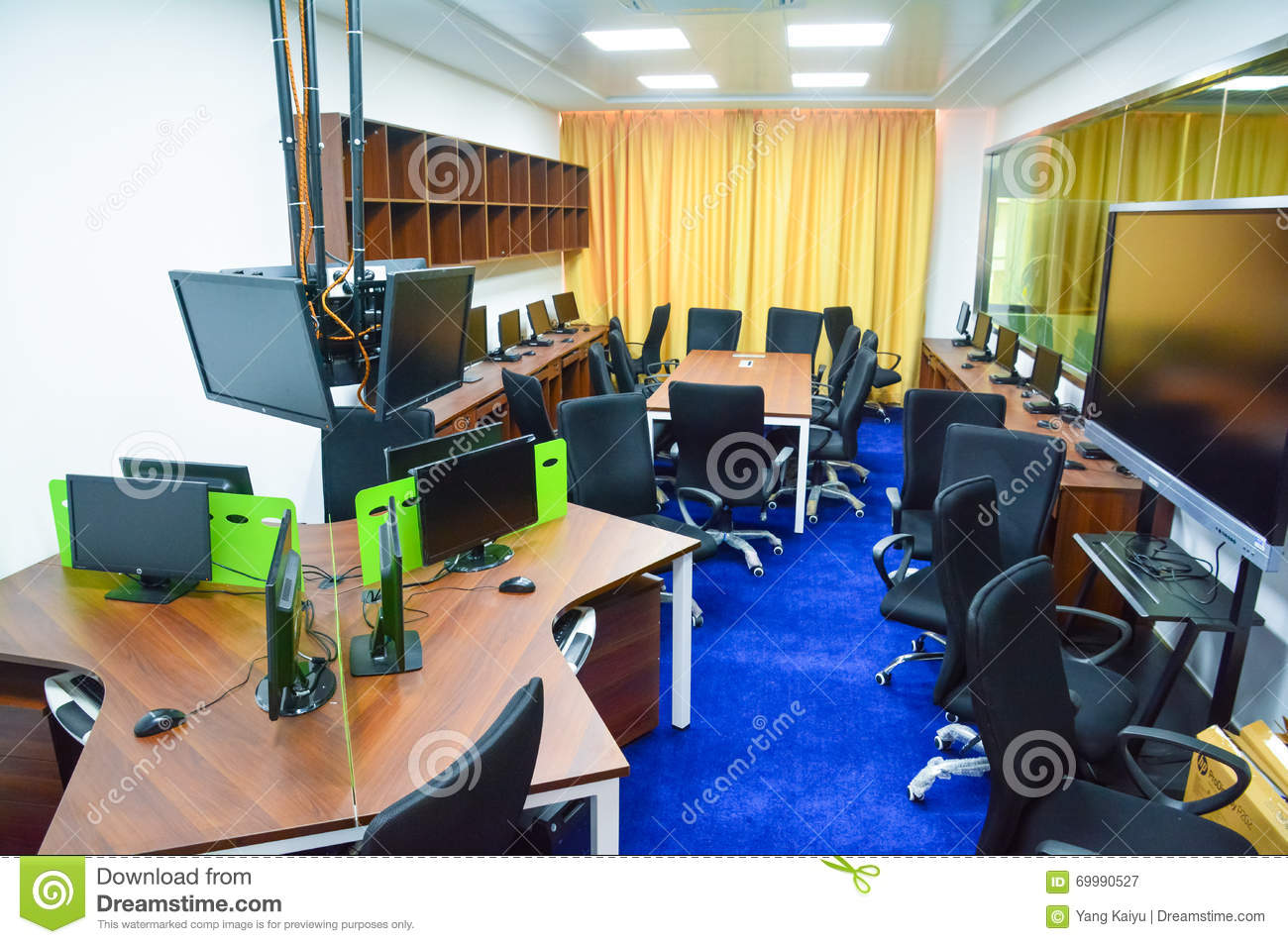 Modern Classroom Recorder ~ Microteaching classroom observation room editorial