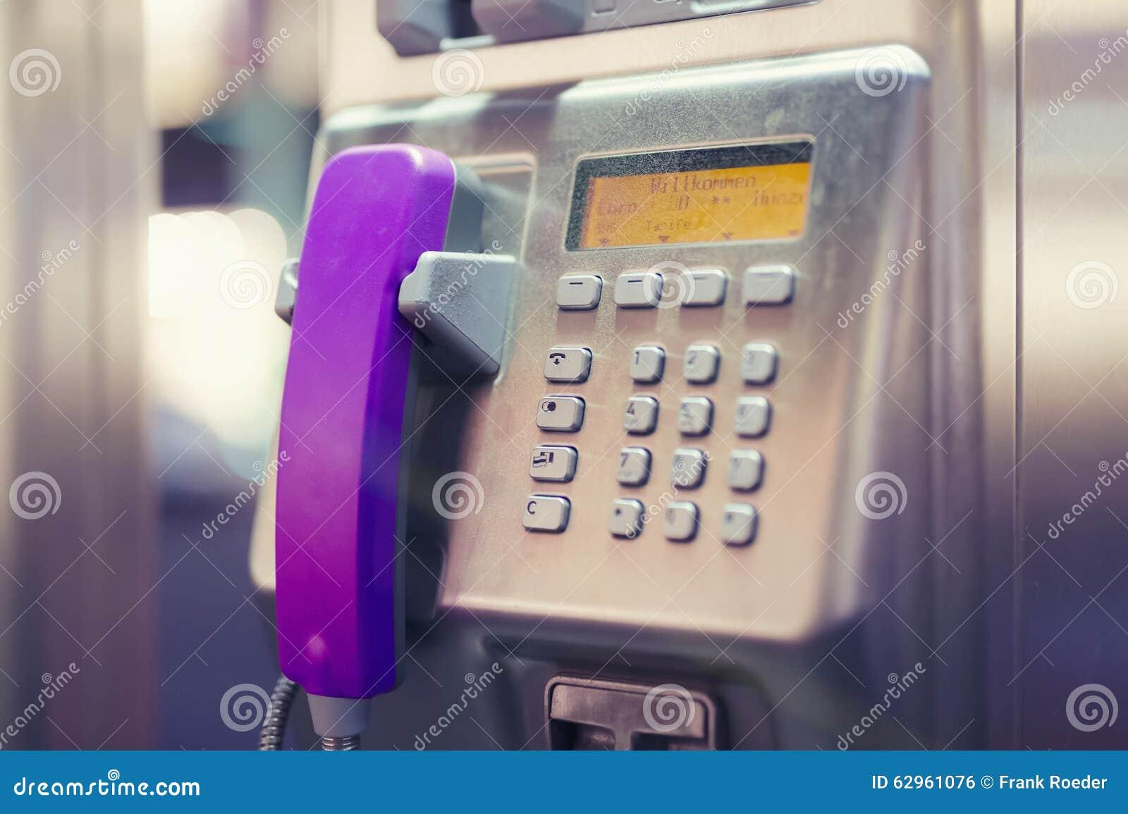 Microtelefono rosa