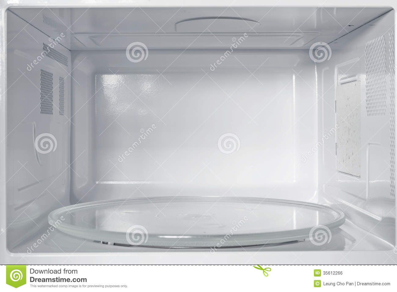 Microwave Oven Stock Photo  Image Of Plate  Dish  Oven