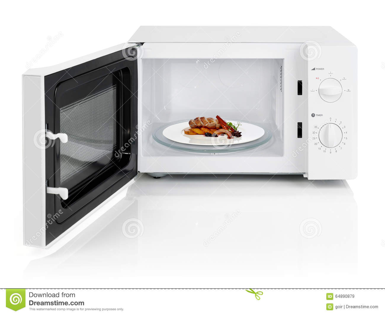 Microwave Oven Stock Photo - Image: 64890879