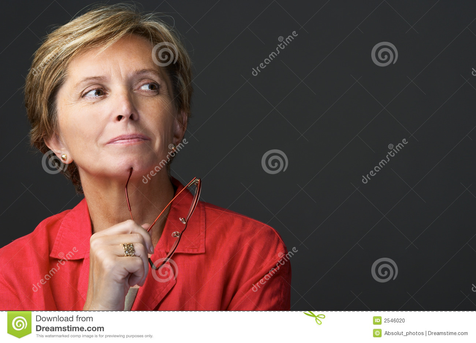 Mid adult woman