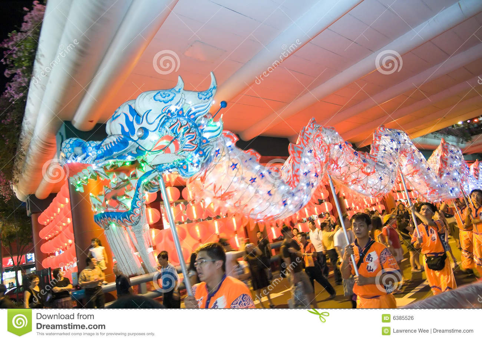 Mid Autumn Festival Parade