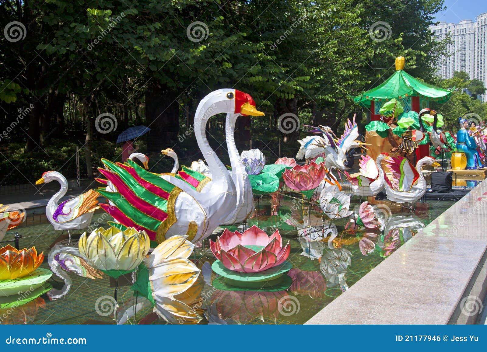 Mid-Autumn Lantern Carnival in Hong Kong