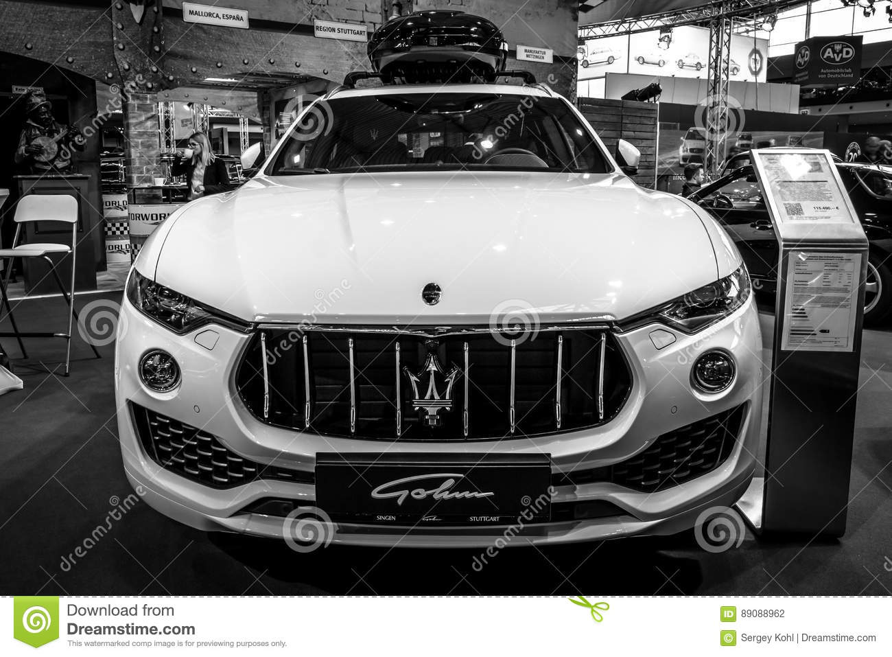 Mid Size Luxury Crossover Suv Maserati Levante S 2016 Editorial Photography Image Of Vehicle Modern 89088962