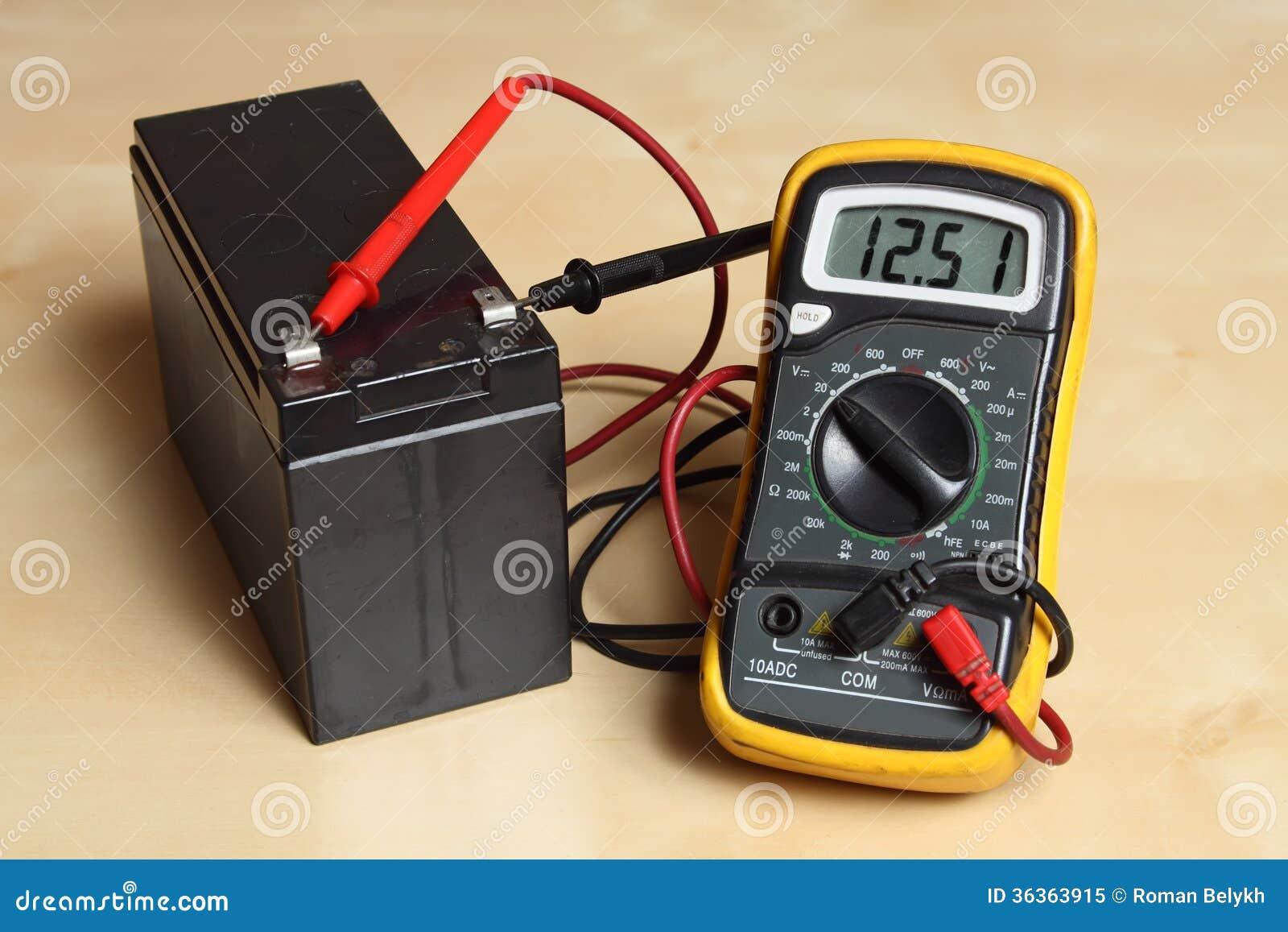 El Multímetro Dactiloscópico Y Su Hábito Sustancial Medir Voltaje Con Multimetro Digital