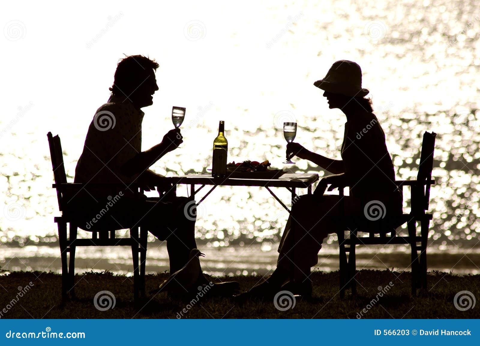 Middag In de open lucht
