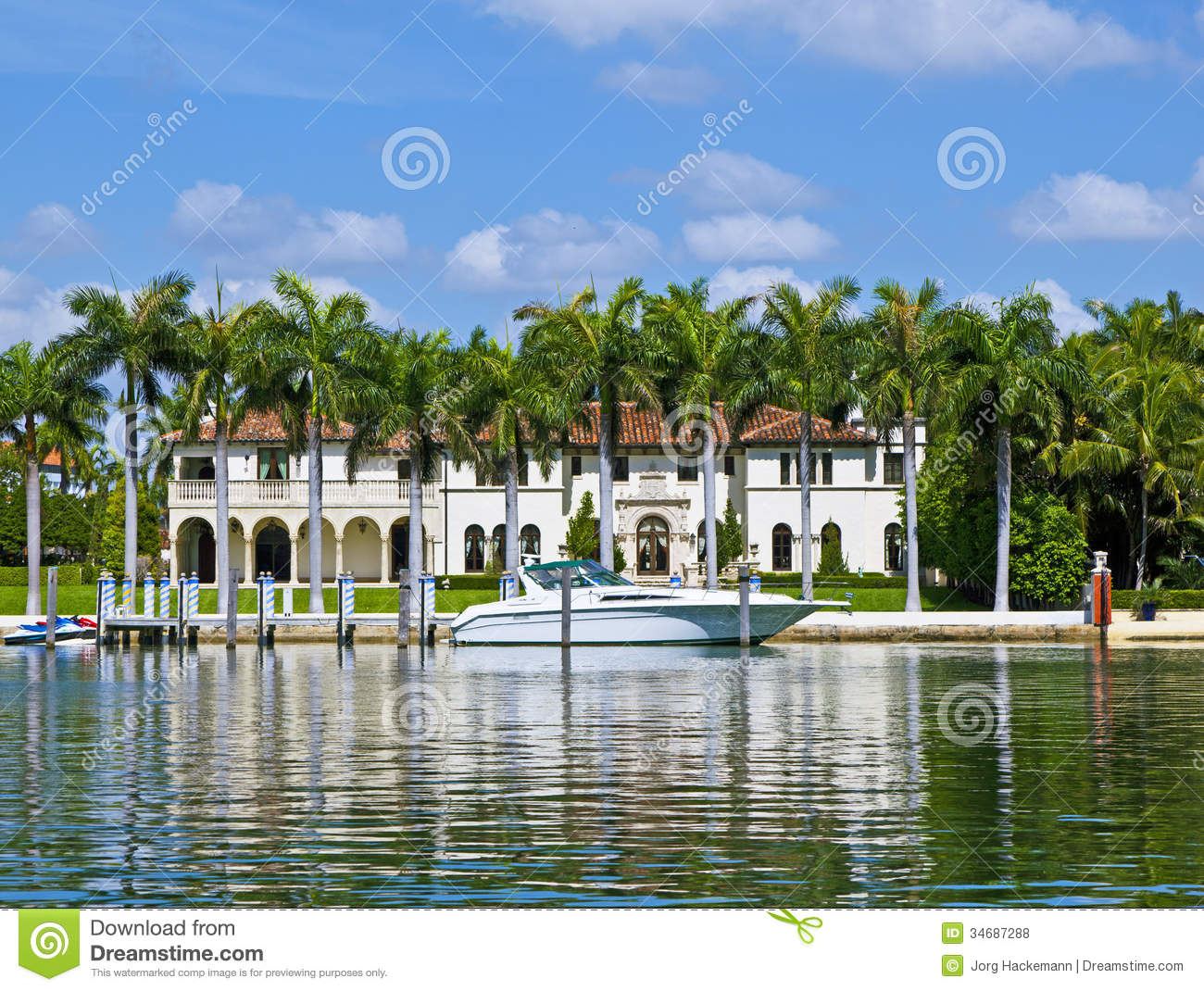 Midday view at ocean drive in miami editorial stock photo Luxury home builders usa