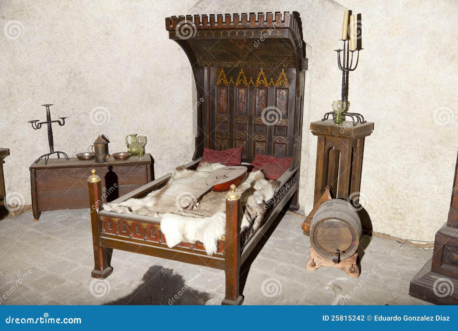 Middeleeuws Bed Stock Fotografie   Beeld  25815242