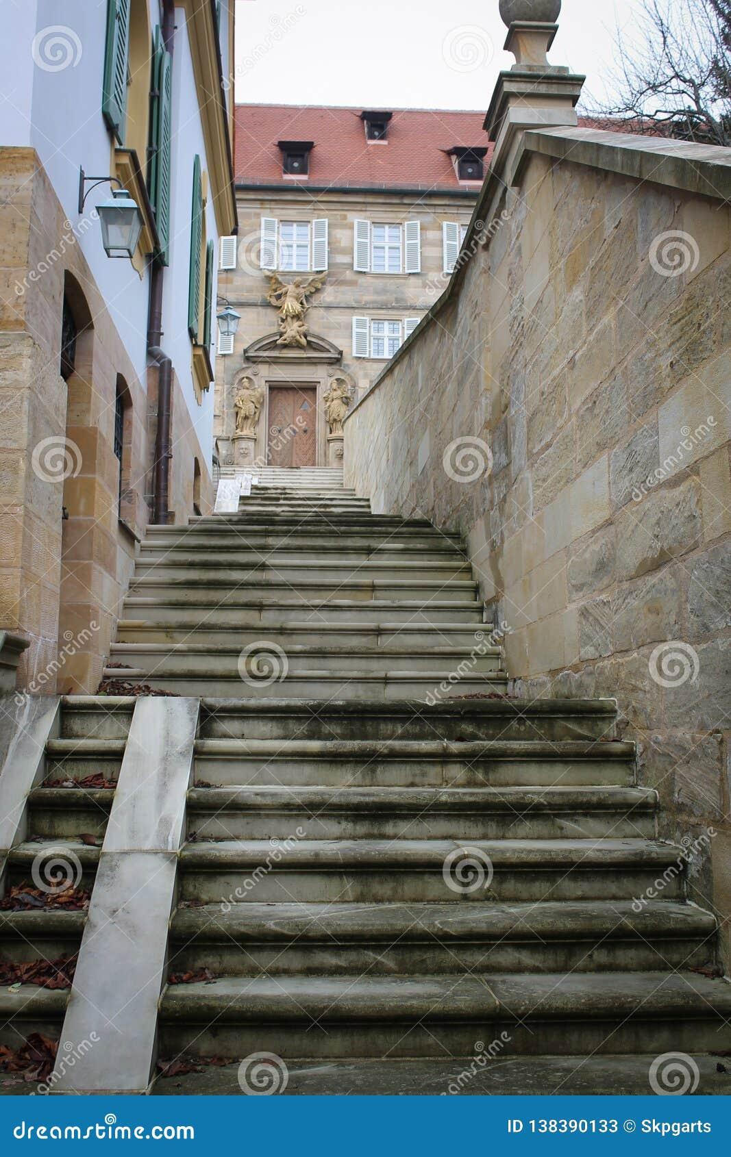 Middeleeuws de Tredenweergeven van Bamberg