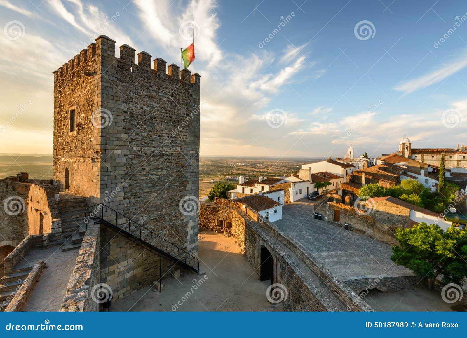 Middeleeuws dorp van Monsaraz in Alentejo, Portugal