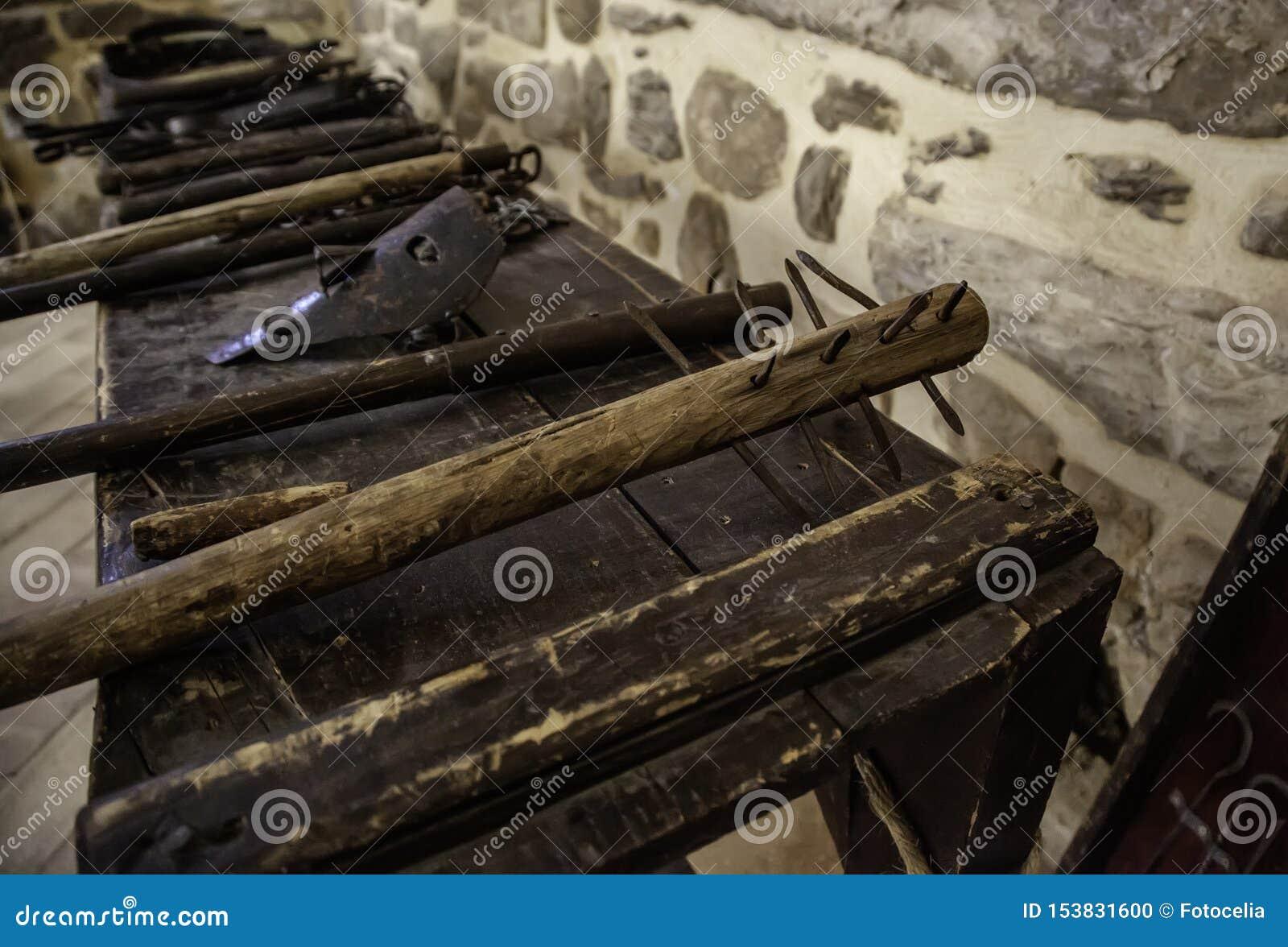 Middeleeuws instrument van marteling