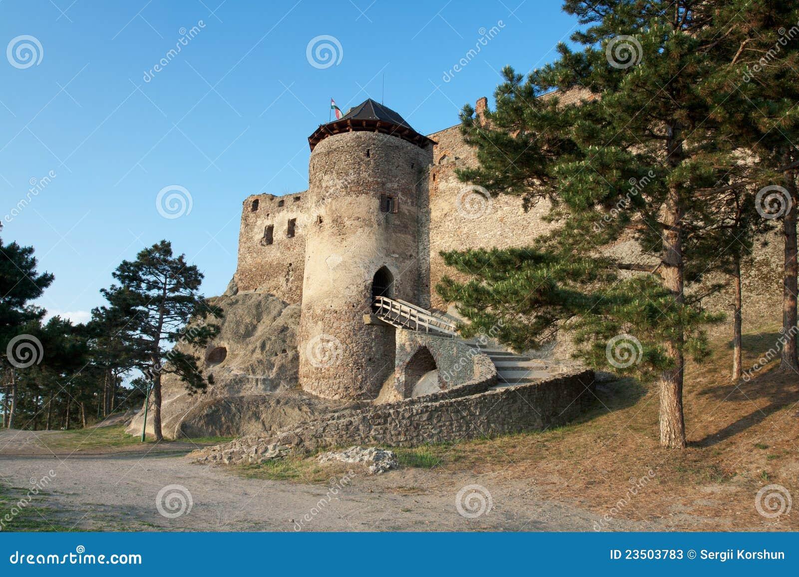 Middeleeuws kasteel Boldogko in Tokaj gebied Hongarije