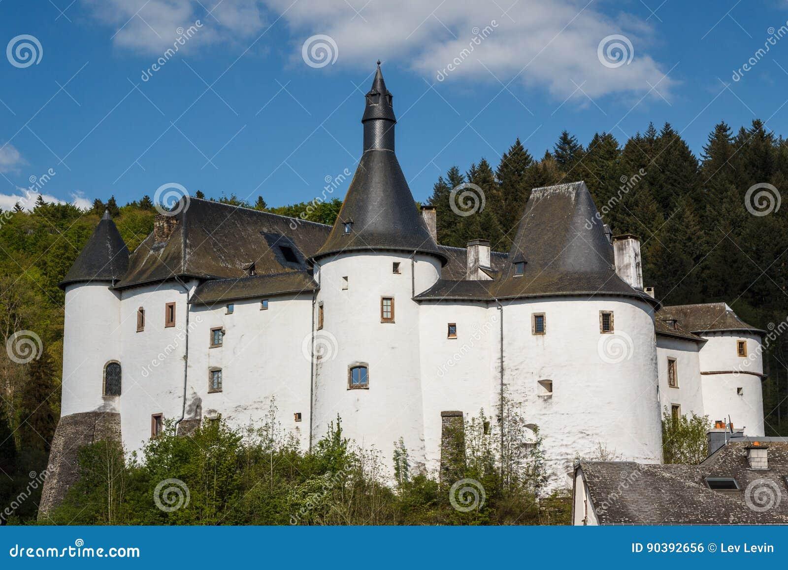 Middeleeuws kasteel in Clervaux