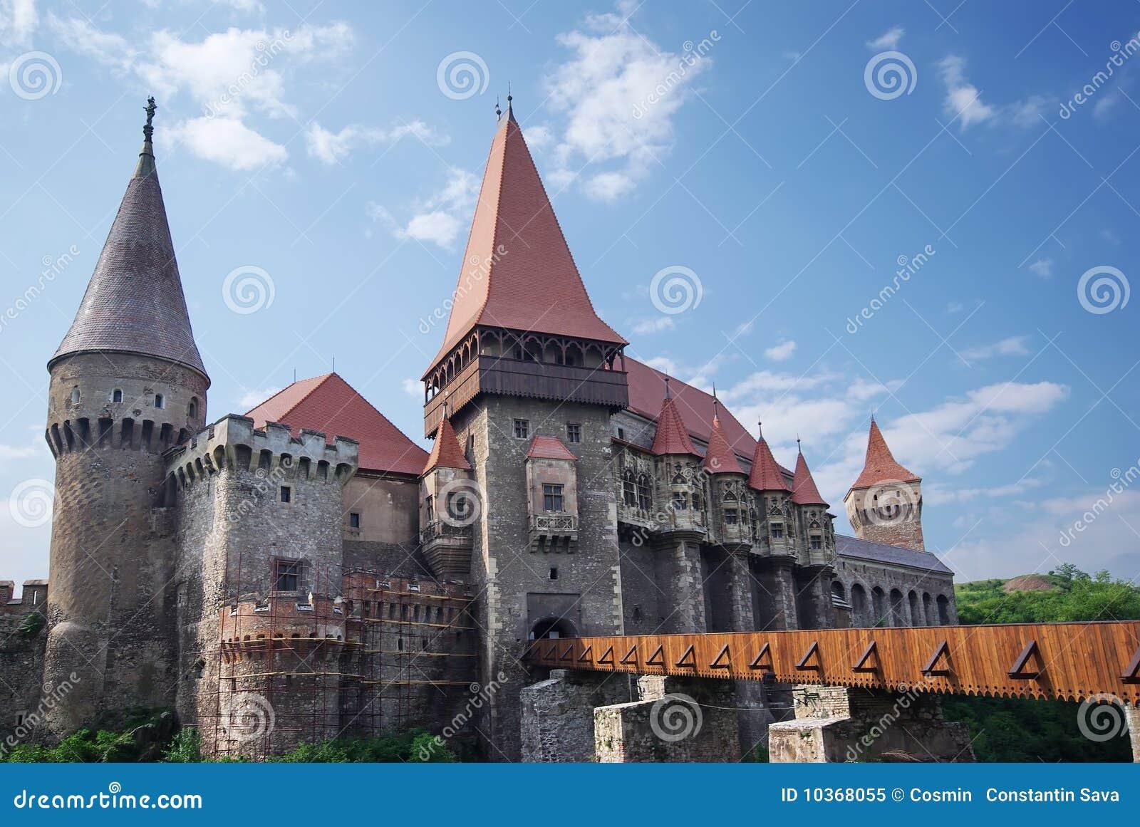 Middeleeuws kasteel in Roemenië