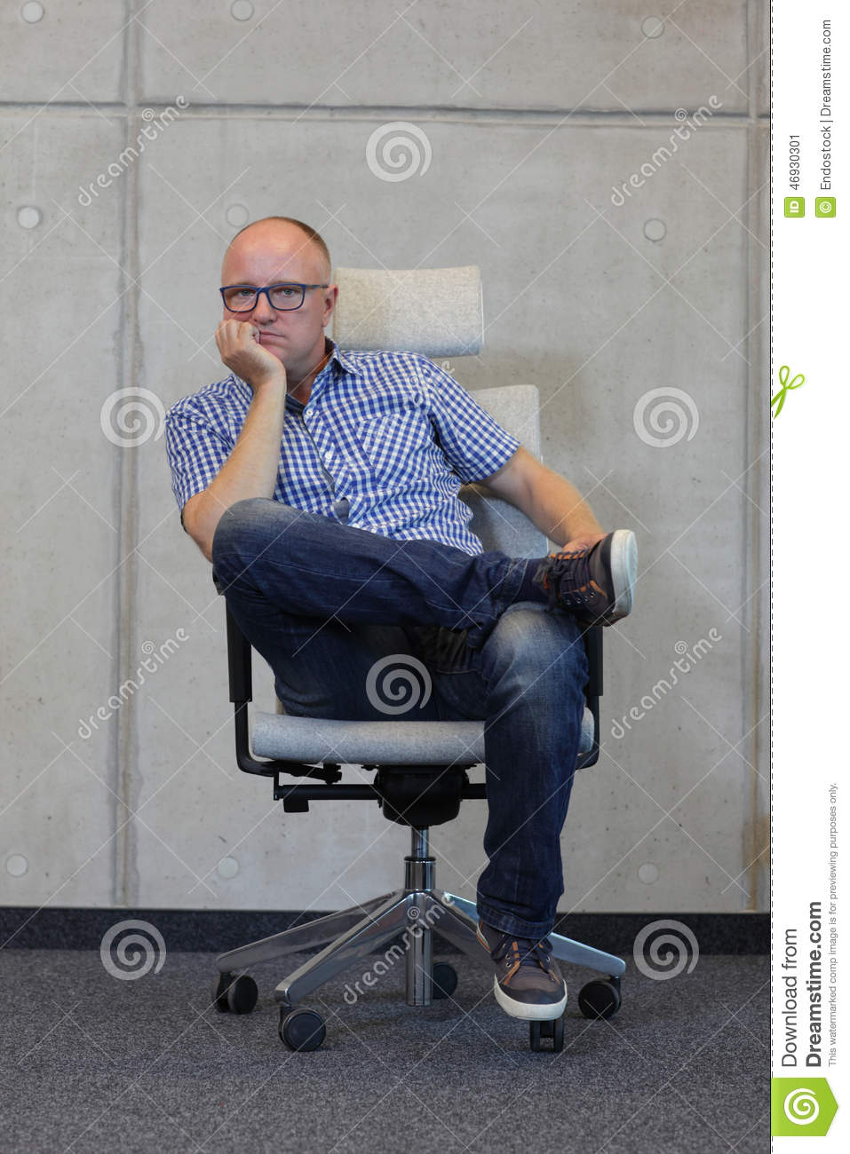 Middle Age Balding Man Stock Photos - 161 Images