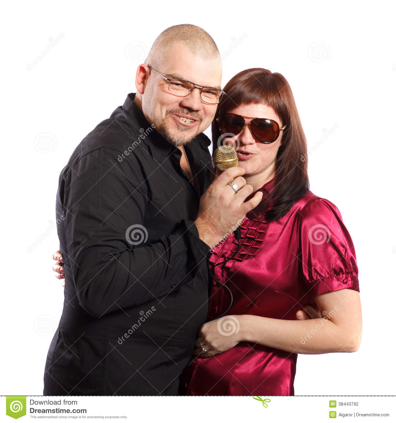 Middle Aged Couple White Background Images & Pictures - Becuo Lady Gaga Meaning