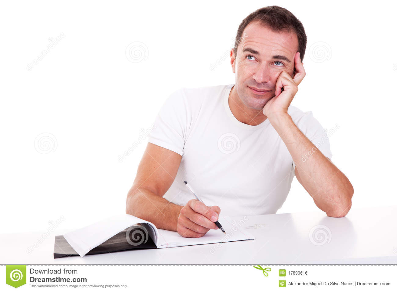 man thinking essay I recently discussed with an intelligent and well-disposed man the threat  that in  this process conscious thinking and wanting can play a part.