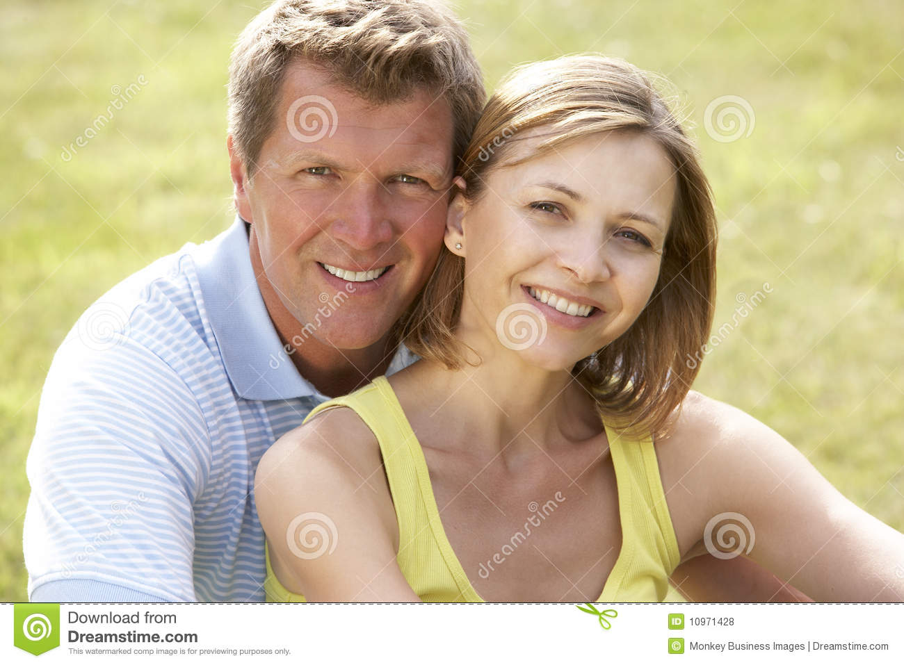 image Middle aged couple with nice bodies