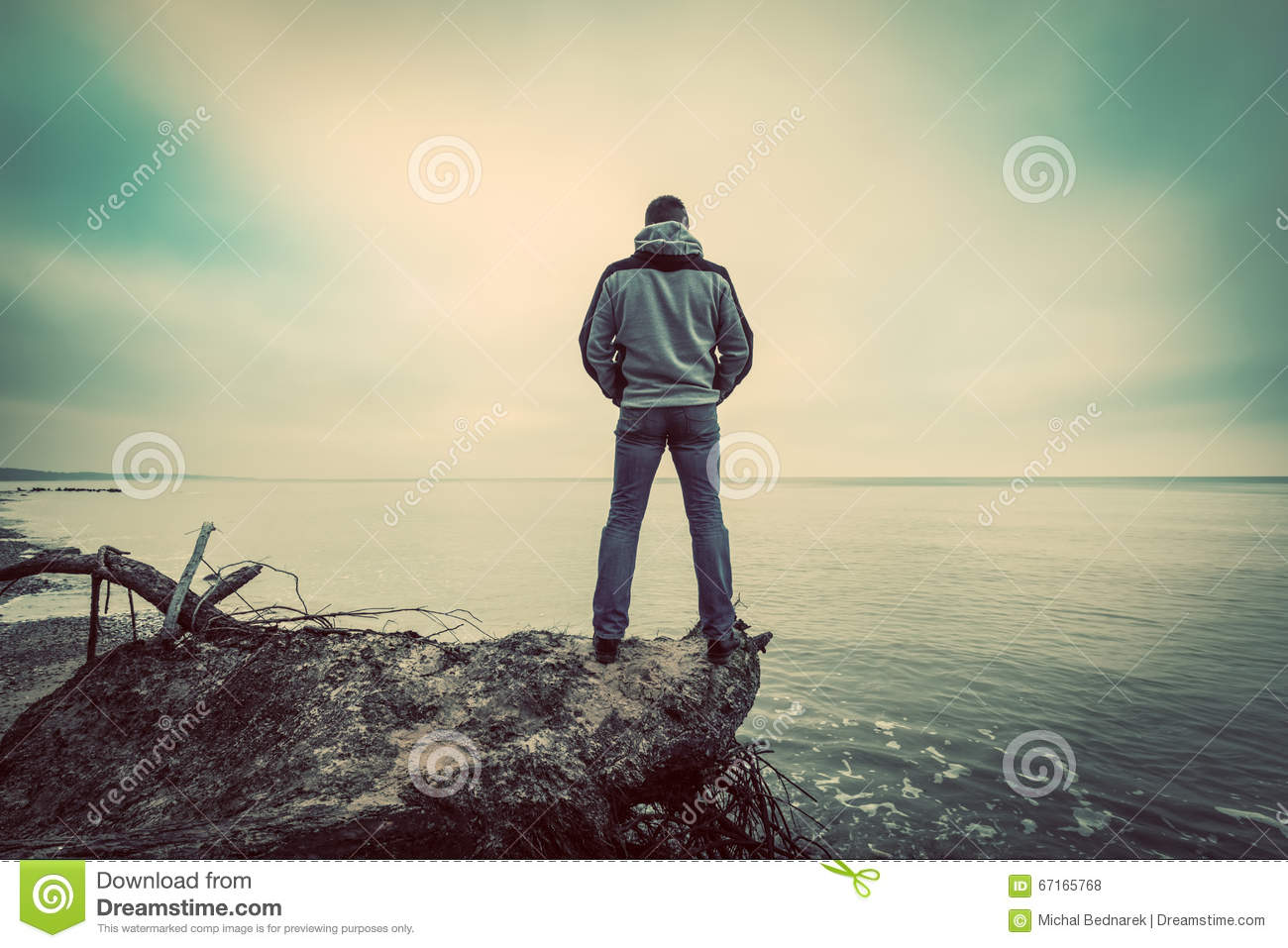 sad man standing alone wwwimgkidcom the image kid
