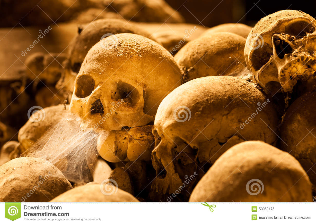Middle Ages Skulls Stock Image Image Of Travel Road 53050175