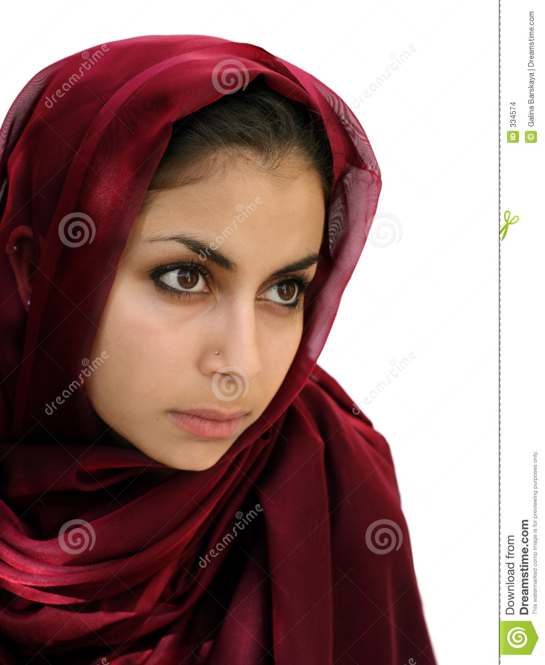 Middle Eastern Girl Stock Images - Image: 334574