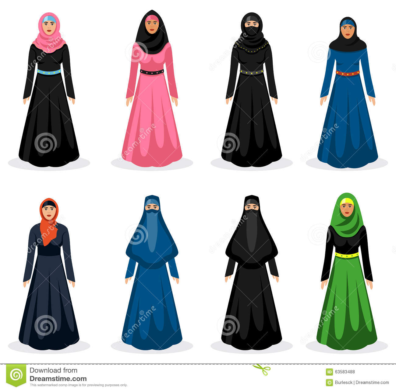 middle eastern vector stock vector illustration of