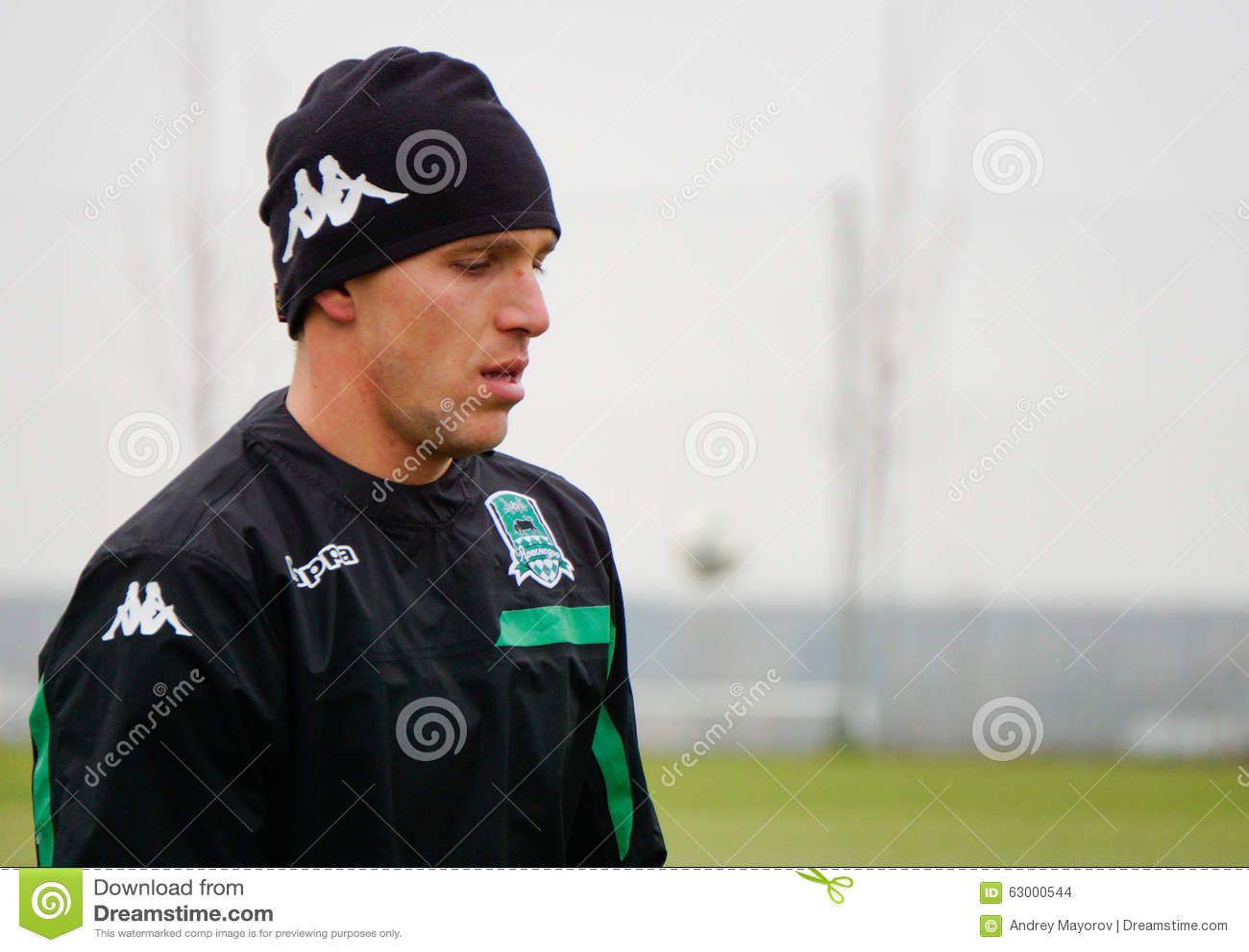 Midfielder of the football club Krasnodar