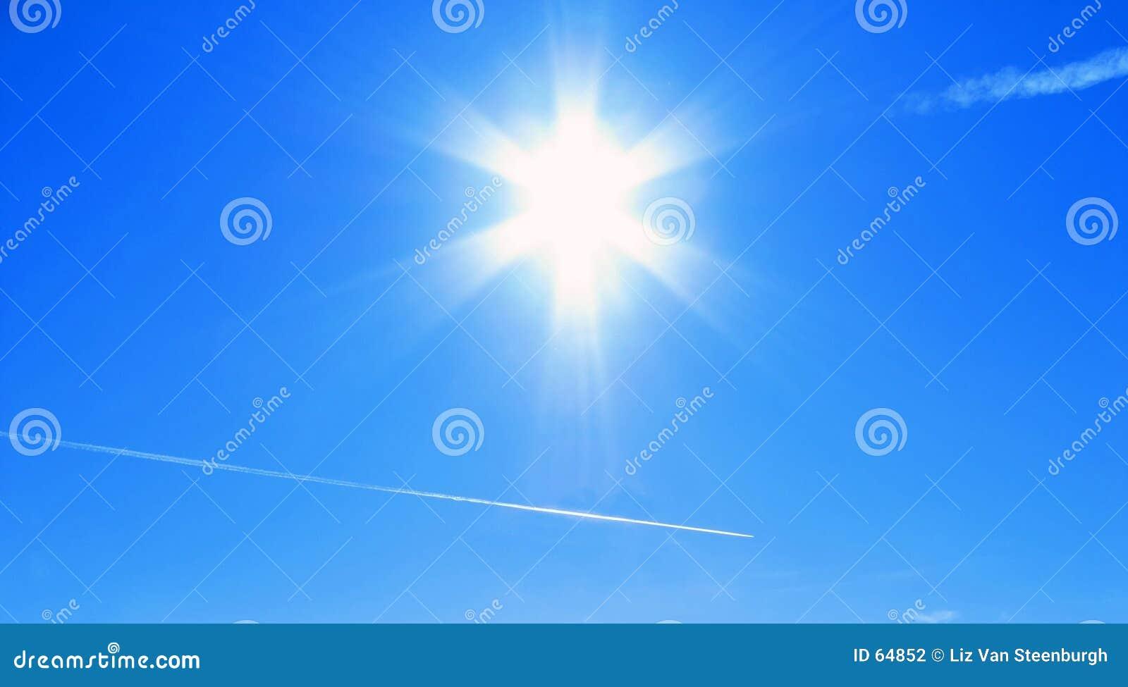 Download Midi élevé photo stock. Image du lumière, rayons, brillant - 64852