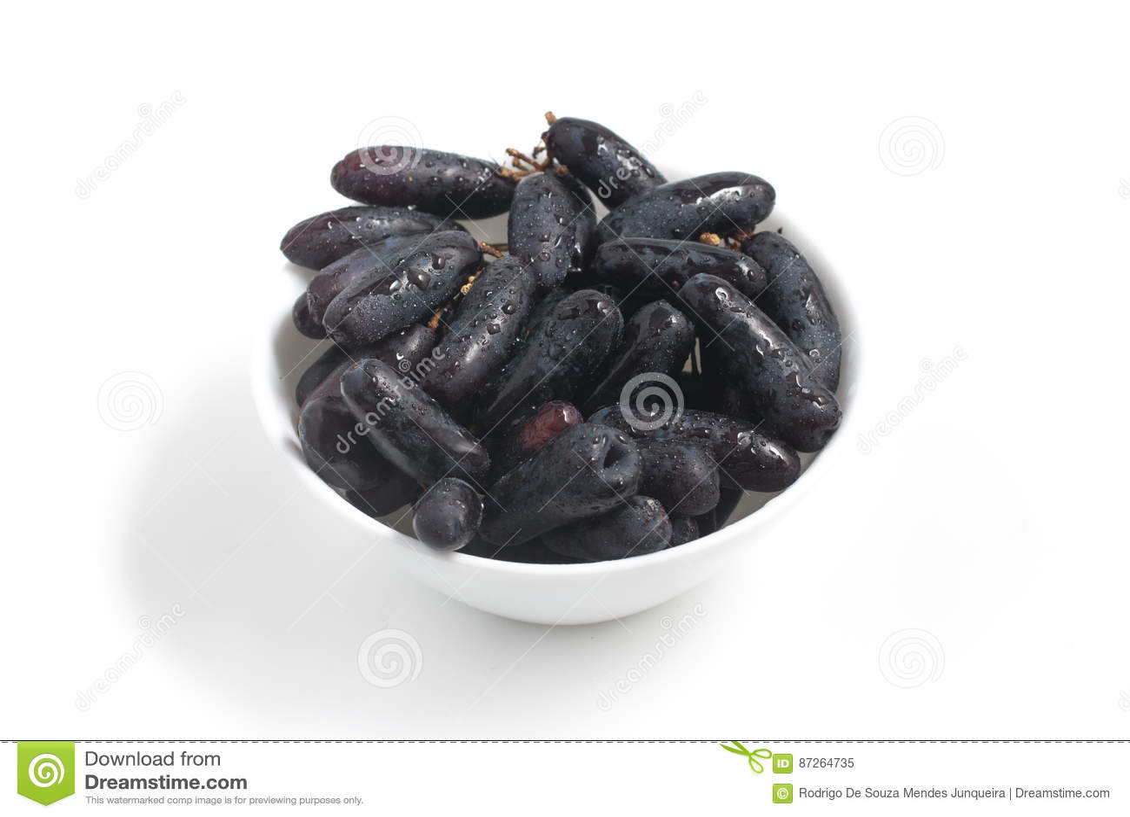 Midnight Long Black Grapes