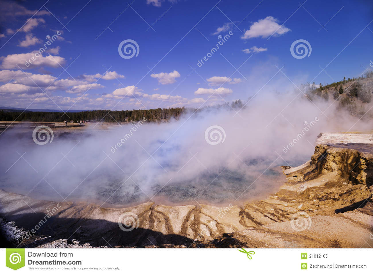 yellowstone is the largest geyser local Marvel at a volcano's hidden power rising up in colorful hot springs, mudpots,  and geysers explore mountains, forests, and lakes to watch wildlife and witness .