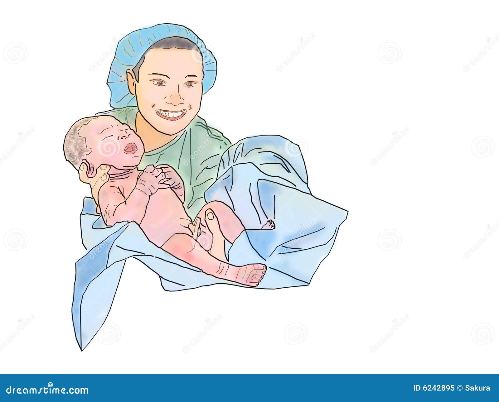 midwife cartoons  illustrations  u0026 vector stock images