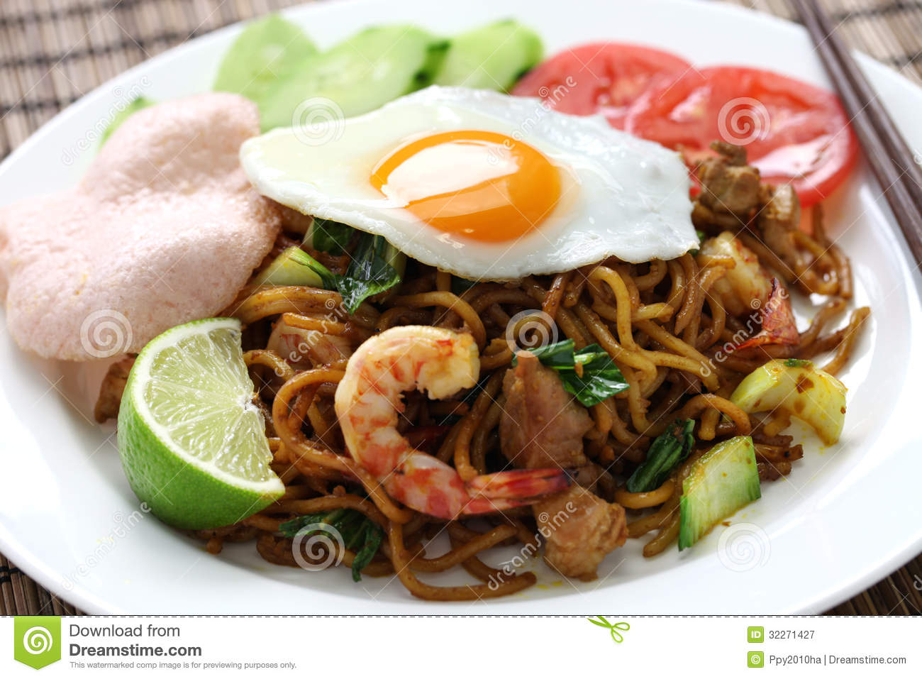 Mie Goreng, Mi Goreng Royalty Free Stock Photography - Image: 32271427
