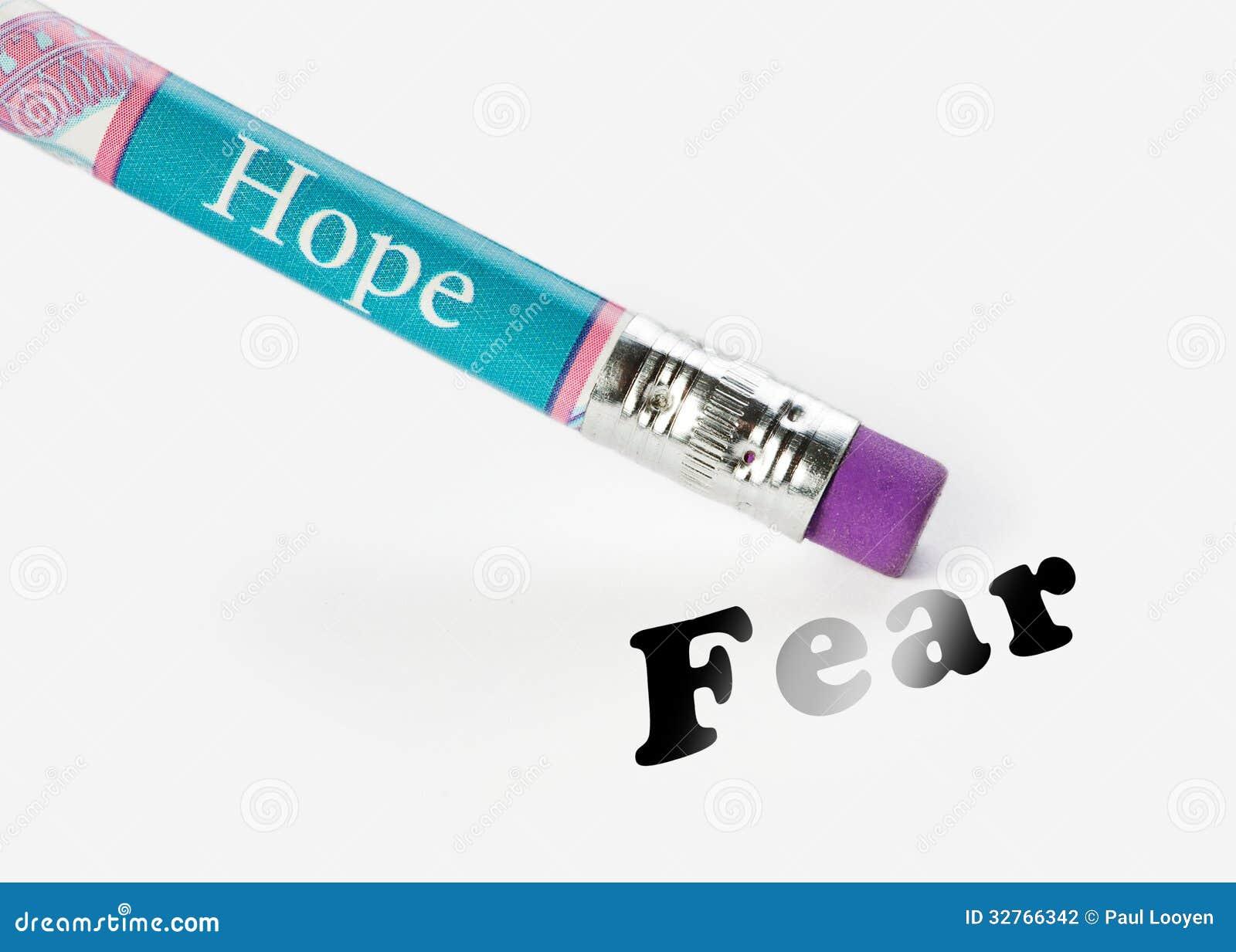 Miedo del borrado de la esperanza