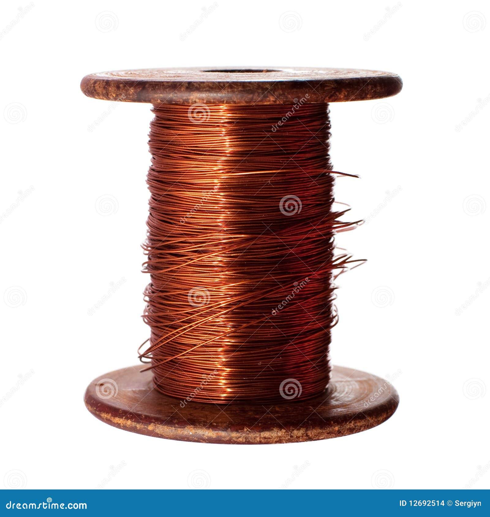 Miedziany drut