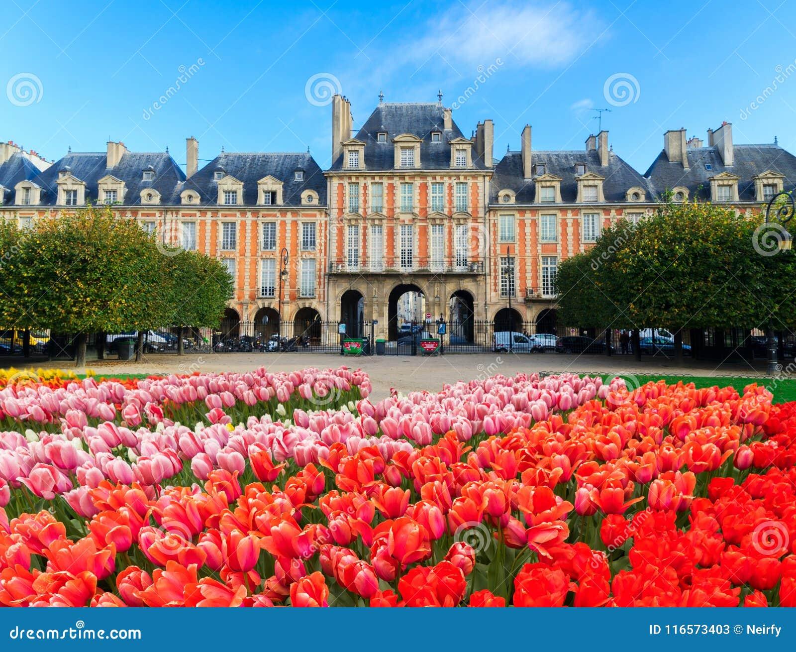 Miejsce De Vosges, Paryż