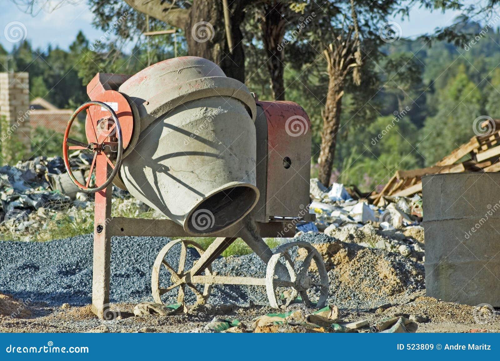Miejsce melanżeru zbudować cementowego
