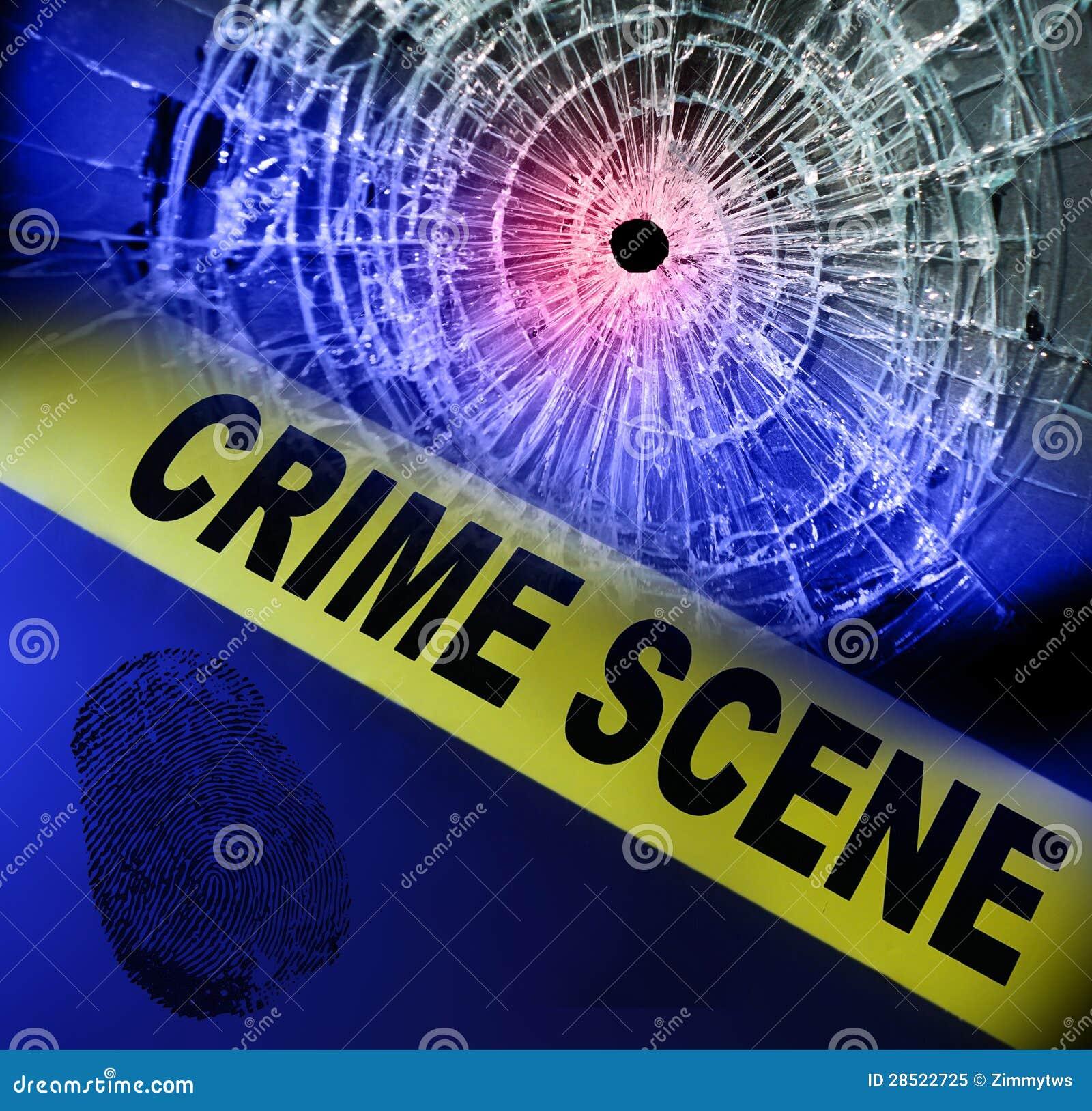 Miejsce przestępstwa taśma