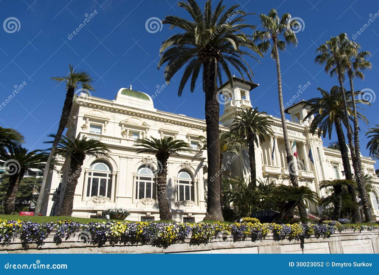 Sanremo Miejski kasyno, Włochy