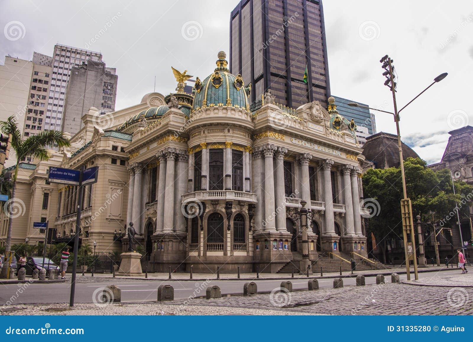 Miejski Theatre Rio De Janeiro