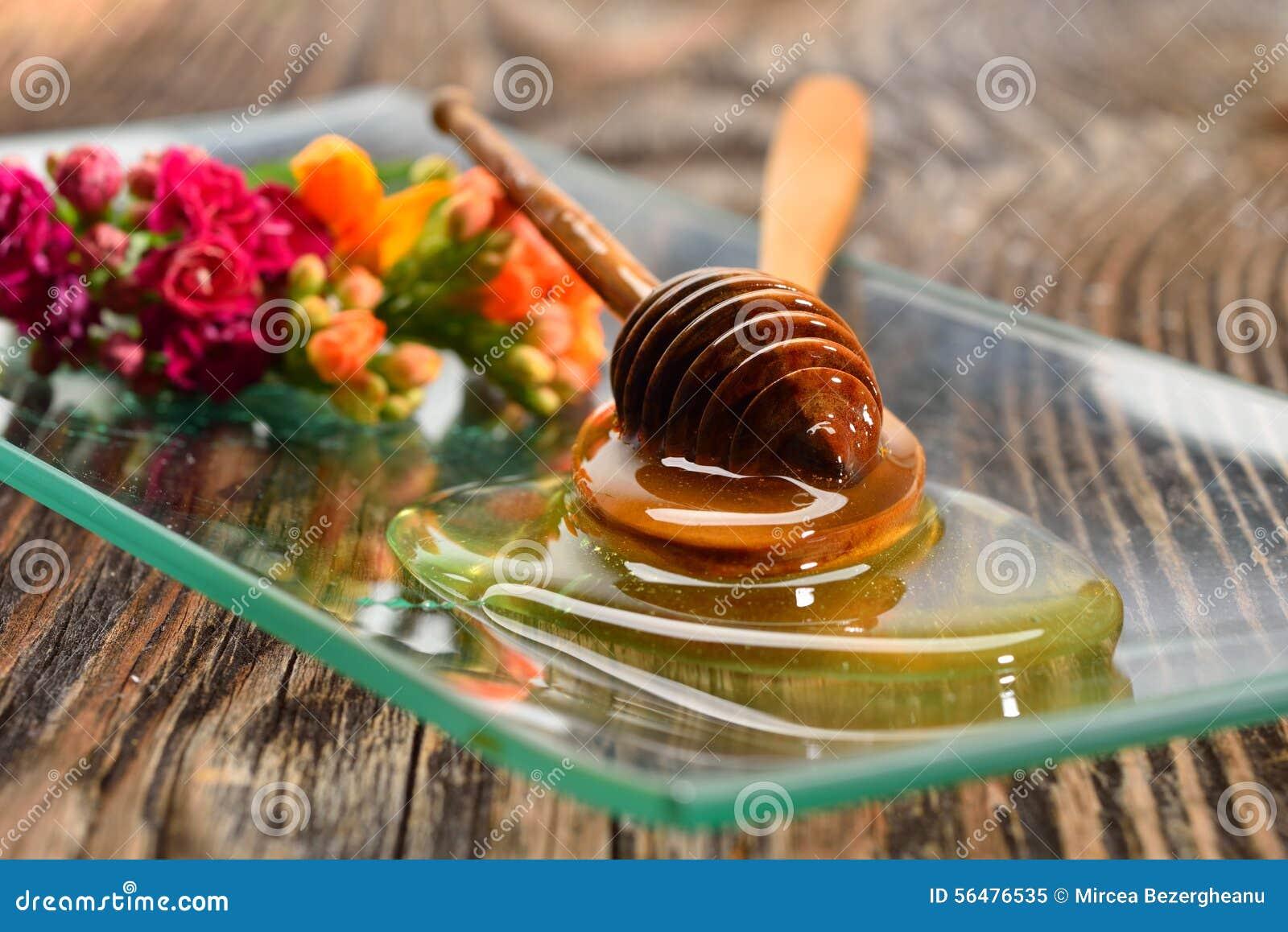 Miel d or de plat