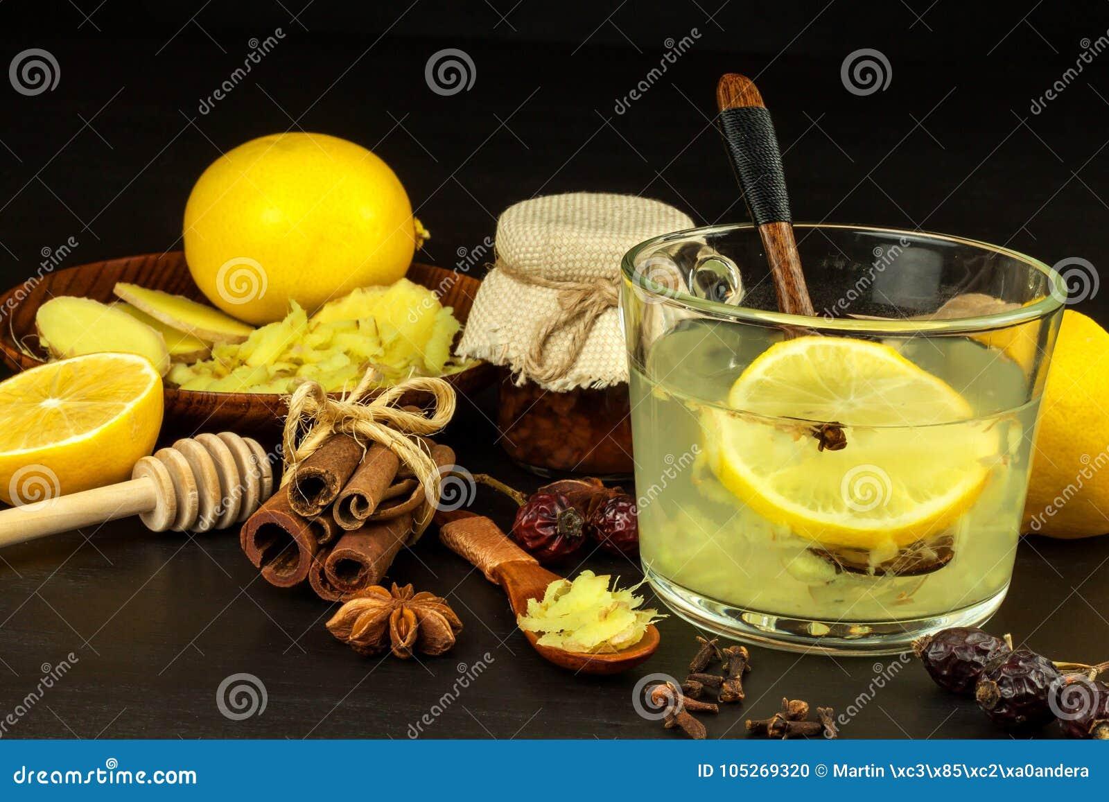 te de limon con miel para la gripe