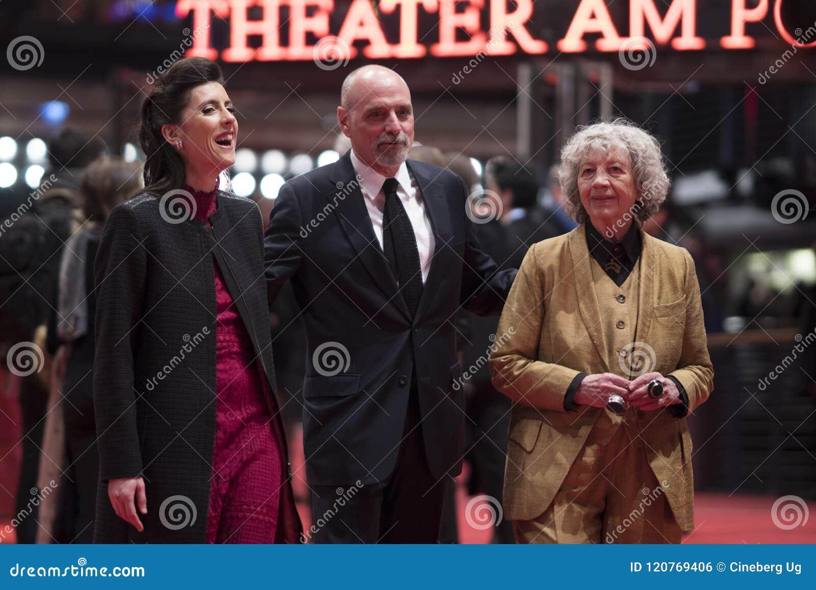 Miembros del jurado del premio documental de Glashuette durante el Berlinale 2018