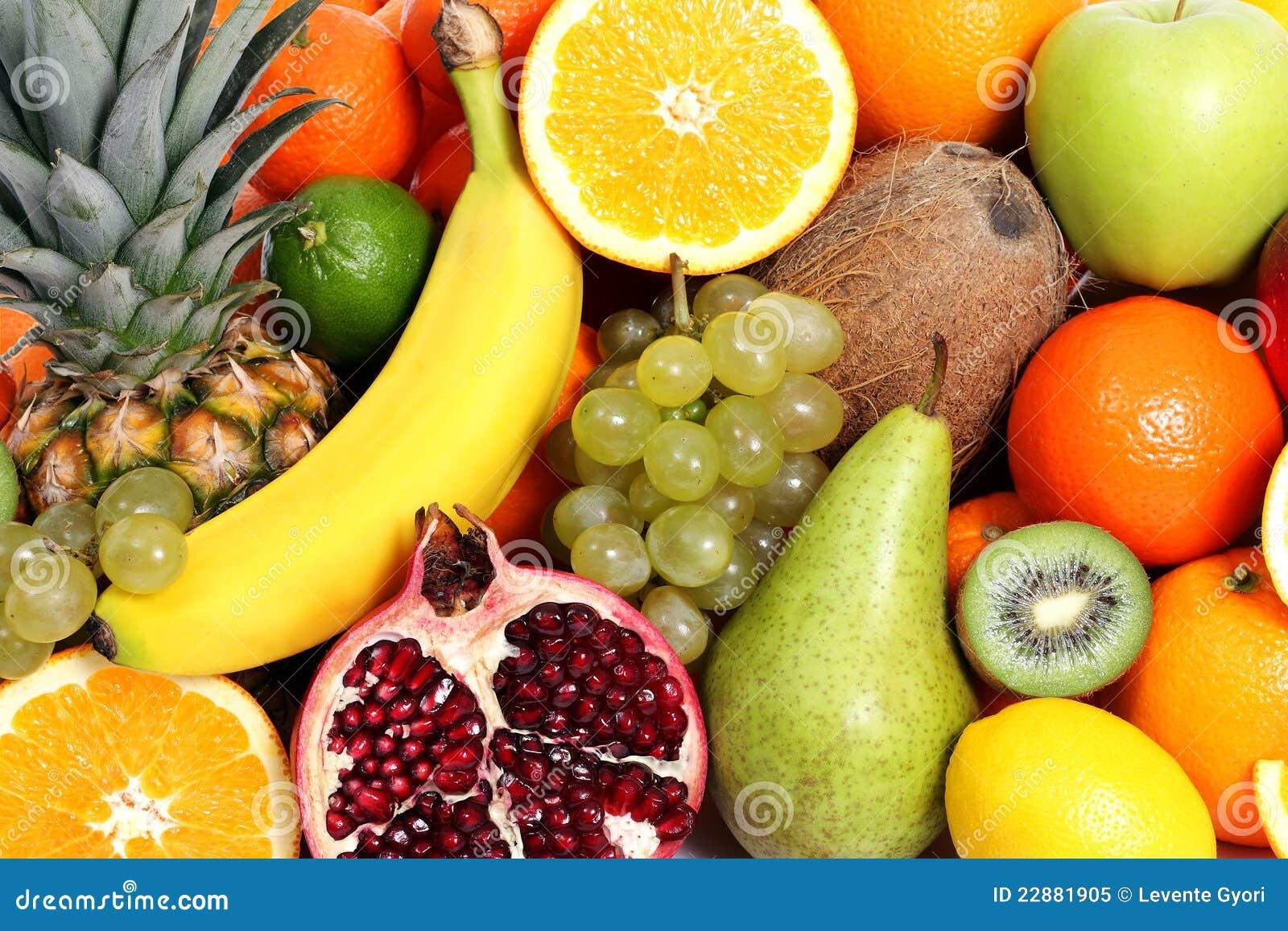 Mieszać tło owoc