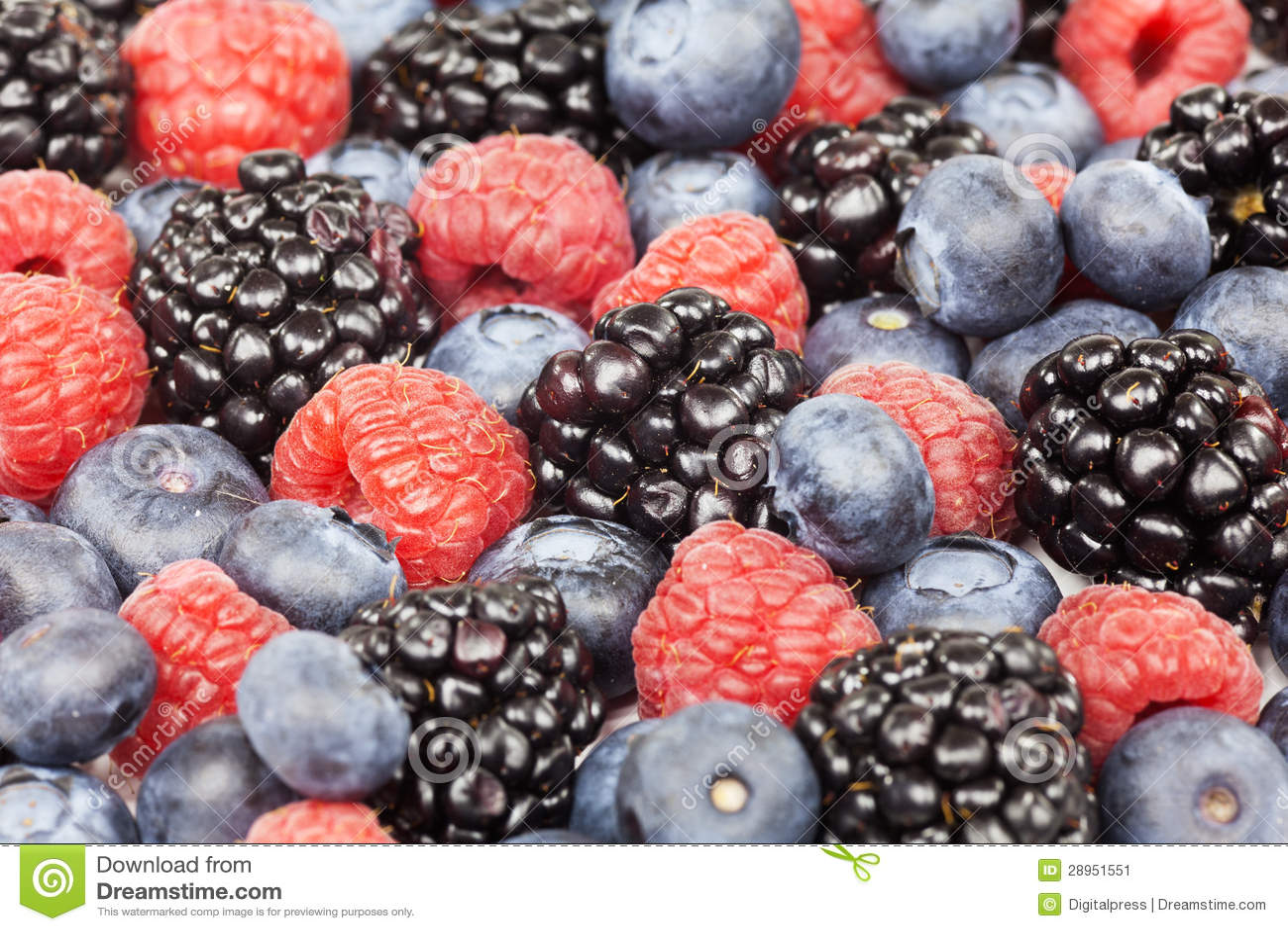Mieszane jagody