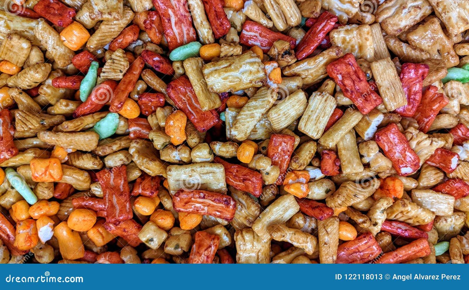 Mieszanka barwioni krakers w luźnym