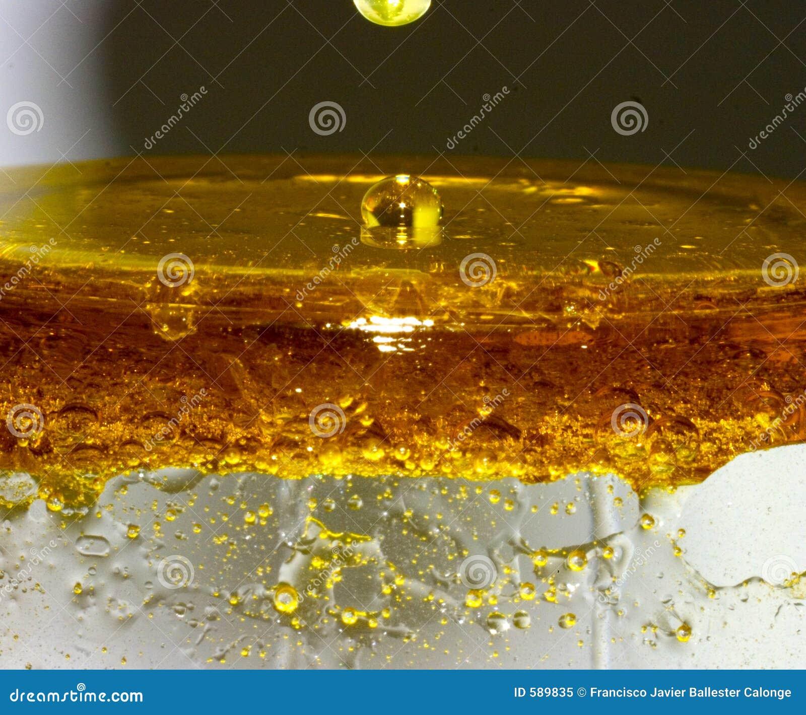 Mieszanka oleju wody